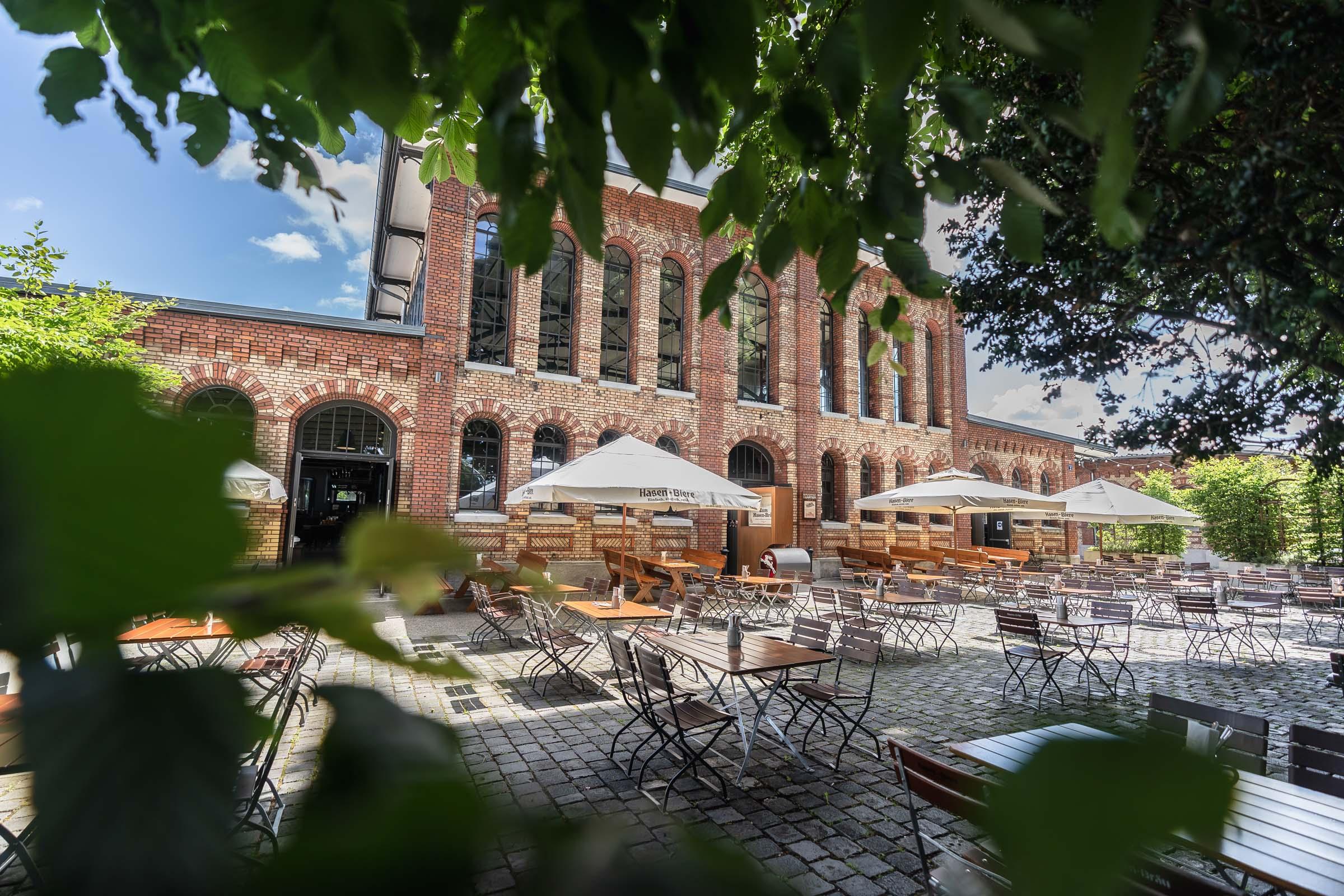 Hasenbrauhaus Brewery Grill Restaurant Kalberhalle Augsburg